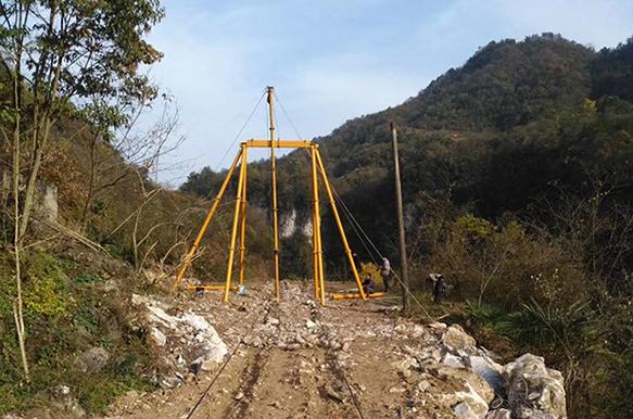 8吨级六线重型索道